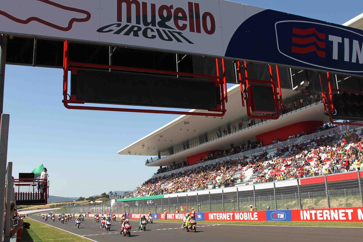 Partenza del Gran Premio dItalia TIM 2011