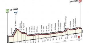 Giro d'Italia strade chiuse Tirano-Lugano 27 maggio 2015