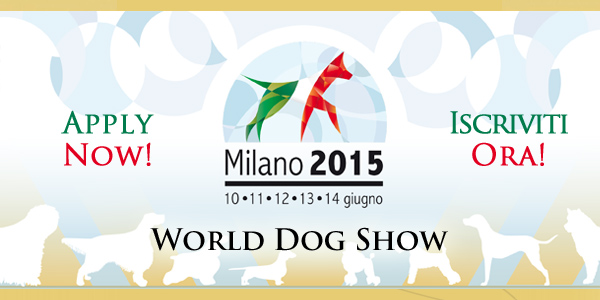 World Dog Show 2015 Milano
