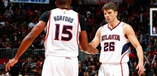 Korver e Horford: Atlanta trema
