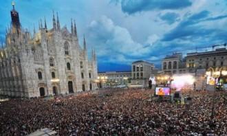 Cantanti concerto Radio Italia Live 2015 Milano