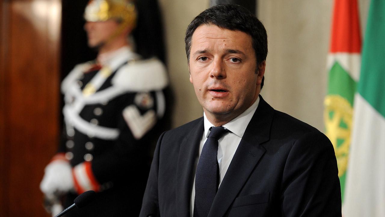 Orario arrivo Matteo Renzi magazzini del cotone Genova