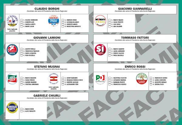 toscana elezioni regionali 2015