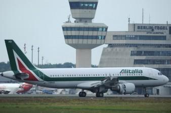 Airbus A320 di Alitalia con lo schema studiato nel 2005 PATRIK STOLLARZ AFP Getty Images