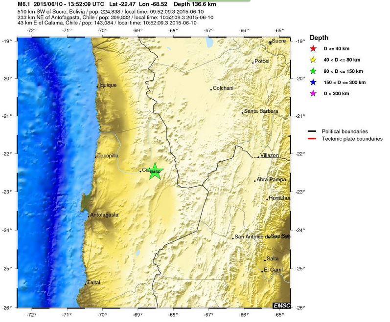 terremoto in cile