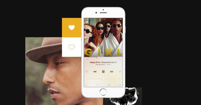 Apple Music eliminare rin