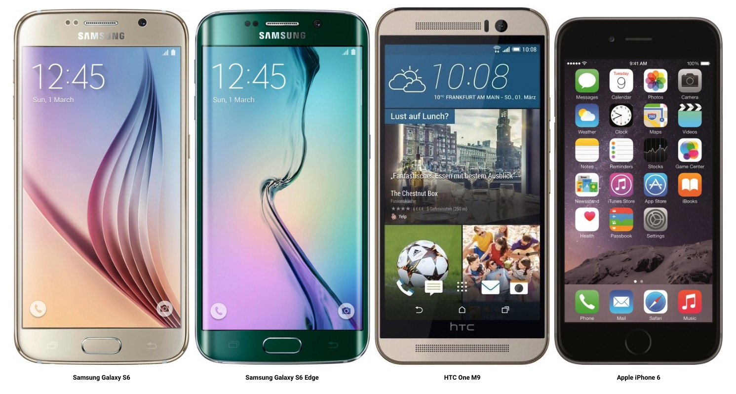 differenza Samsung S6 Edge e iPhone 6