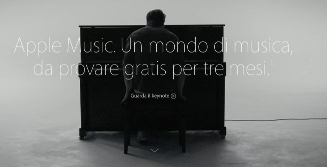 piano individuale Apple Music