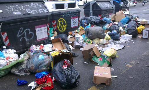 Degrado Roma, sistema di gestione rifiuti inefficiente