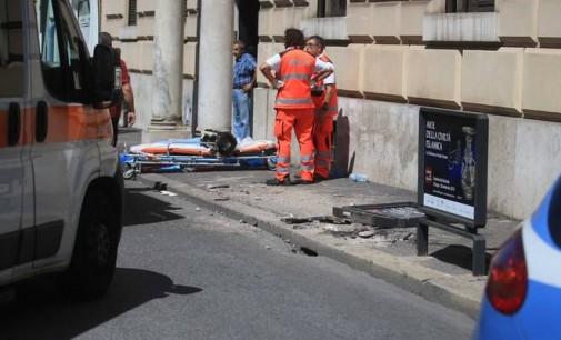 Roma, incidente mortale nei pressi di Piazza del Popolo, una vittima