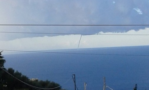 Trombe marine in Liguria e Campania