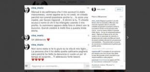 Nina Moric: hanno rubato il mio account Instagram