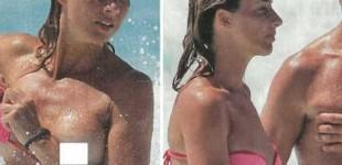 Rocco Siffredi vacanze hot, la moglie Rosa in topless a Formentera. Ecco le foto