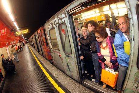 Chiuso tratto metro A, San Giovanni – Ottaviano