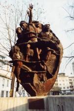 monumento al bersagliere cm  350x80x400