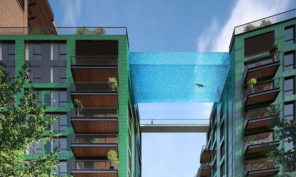 Piscina volante, a Londra il progetto innovativo - Notizie.it