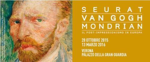 Seurat, Van Gogh, Mondrian Il post impressionismo a Verona