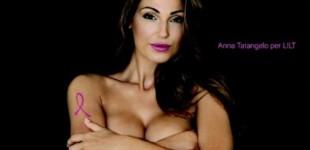 Anna Tatangelo nuda per la Lilt, scatena polemiche sui social network