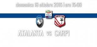 Atalanta – Carpi, streaming gratis Serie A 18 ottobre 2015