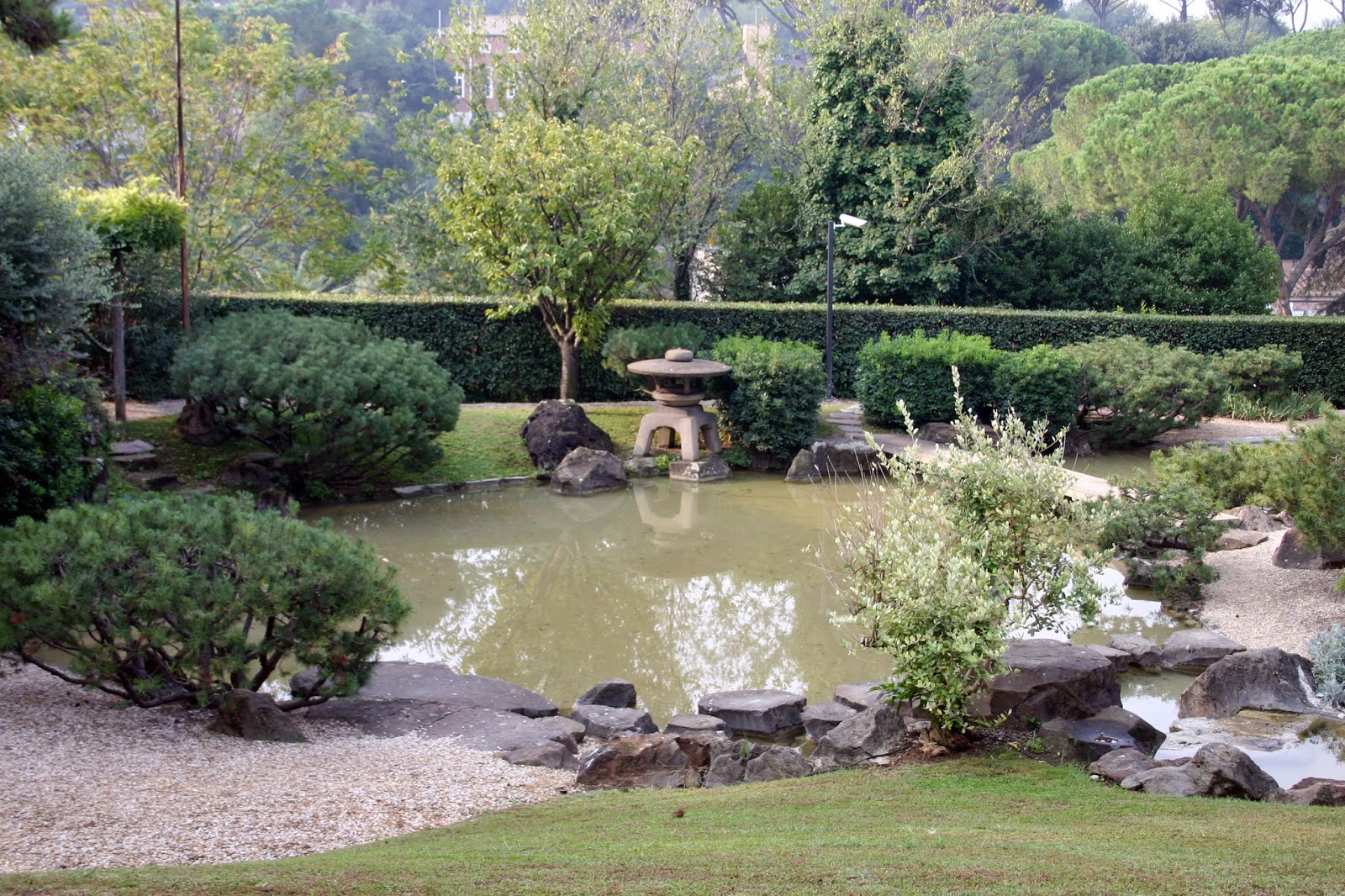 aprono a roma i giardini giapponesi