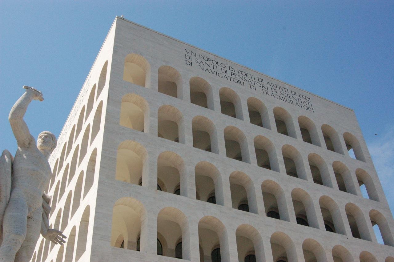 La nuova vita del Colosseo quadrato