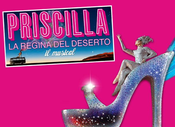 Priscilla, la regina del musical al teatro Brancaccio