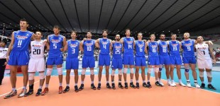 Europei Volley Maschile, Italia – Estonia 3-0