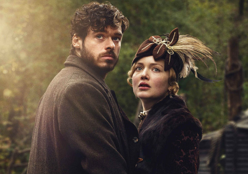 laeffe_L'amante di Lady Chatterley_ Richard Madden e Holliday Grainger
