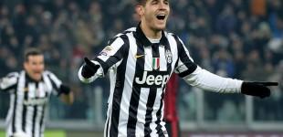 Juventus infortunio grave per Alvaro Morata