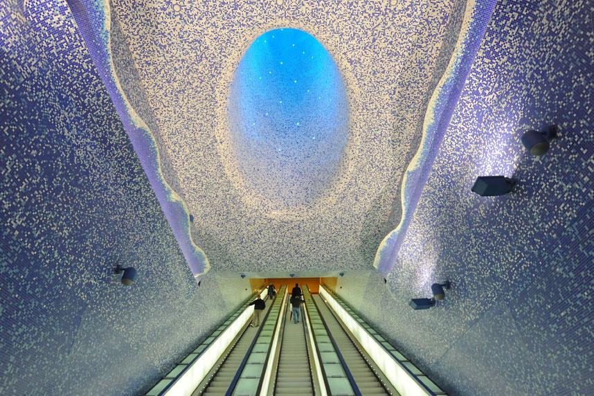 Napoli - stazione Toledo