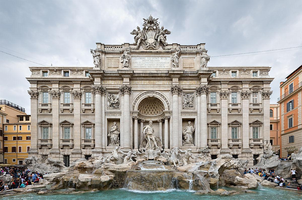 Riapertura della Fontana di Trevi