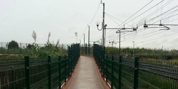 La stazione di Ponte Galeria ha un nuovo collegamento pedonale