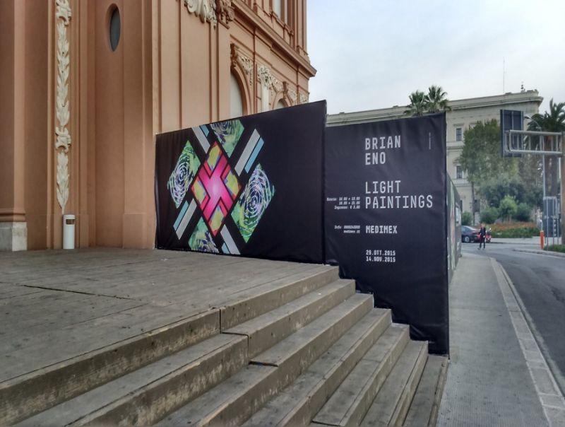 Finita la mostra di Bian Eno a Bari