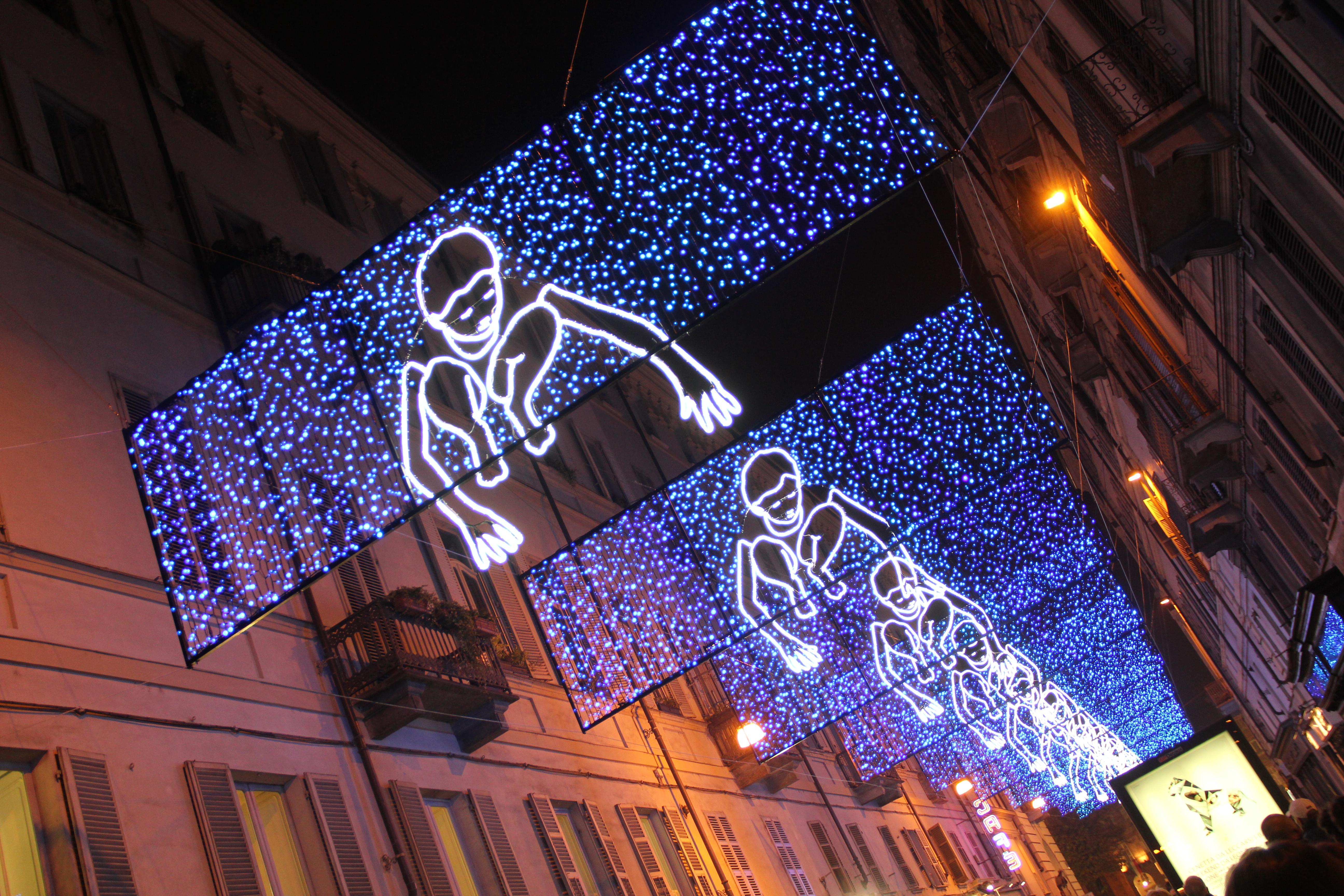 Luci d'artista Torino 2015, dove trovarle in città