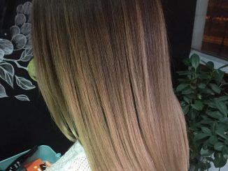 shatush su capelli scuri
