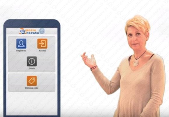 L'agenzia delle entrate a portata di touch: ecco l'app