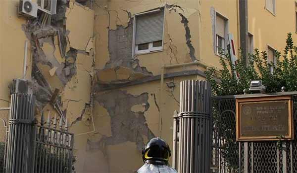 Napoli-crollano-palazzine-della-facolta-di-Veterinaria