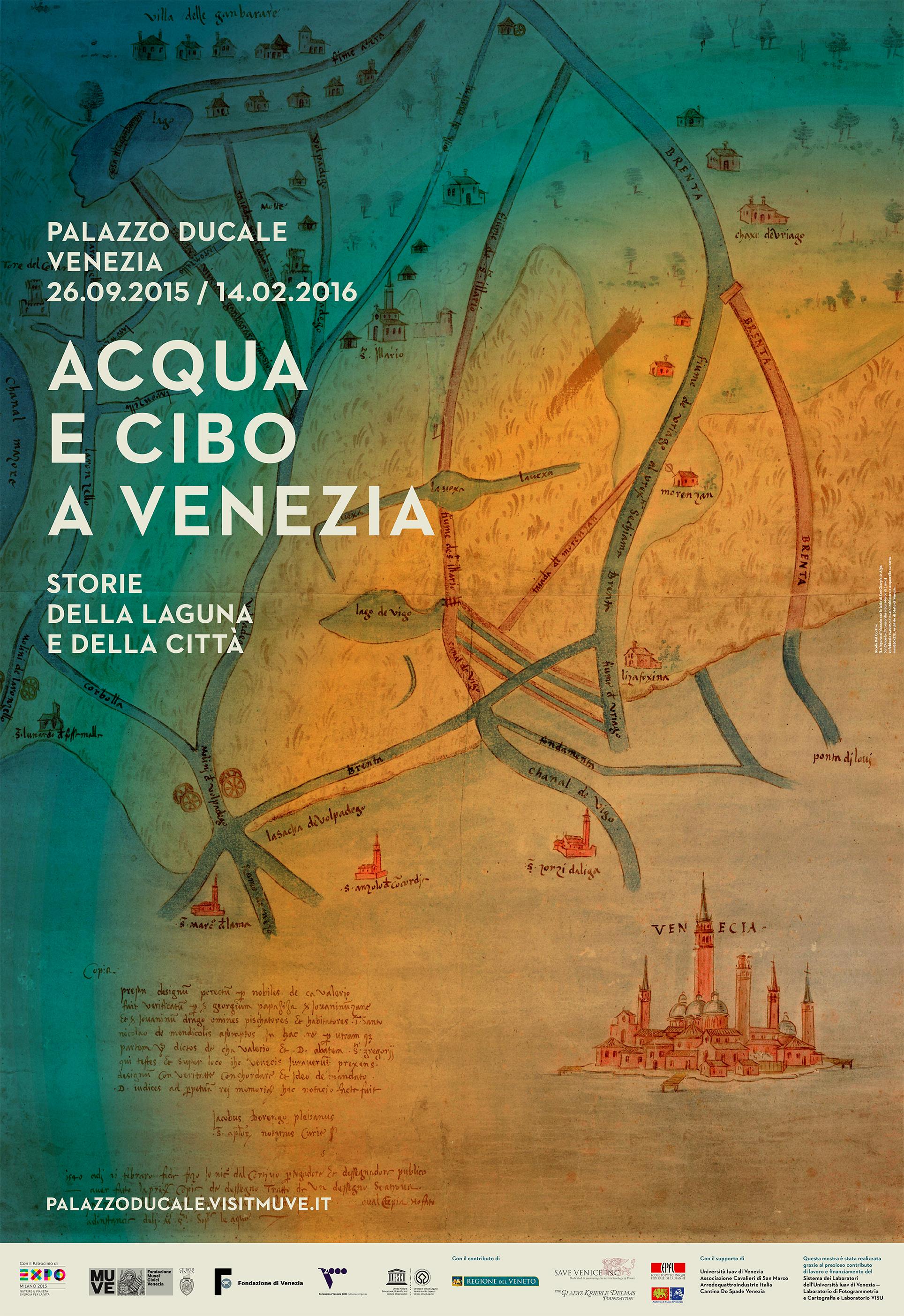 Acqua e cibo a venezia
