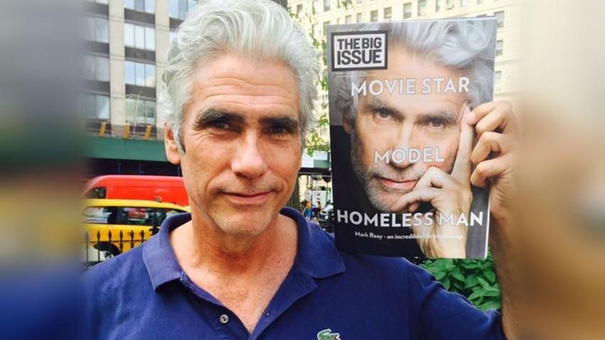 ex modello diventa senzatetto