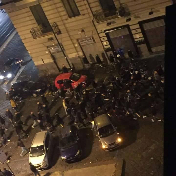scontri Napoli