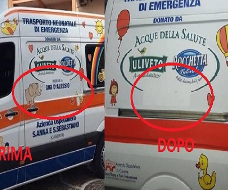 nome,gigid'alessio, ambulanza