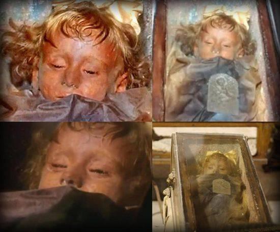 La mummia di Rosalia Lombardo apre gli occhi-VIDEO
