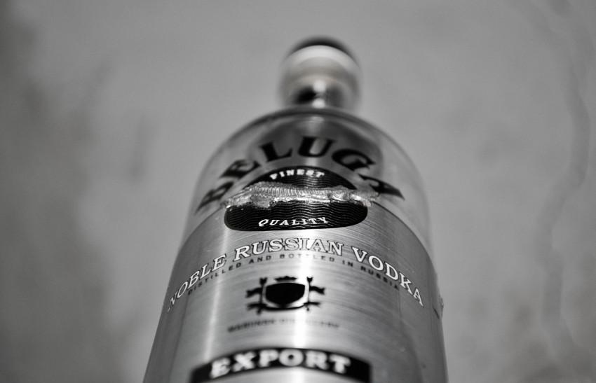 piedi nella vodka