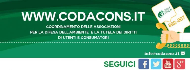 iscriversi al Codacons