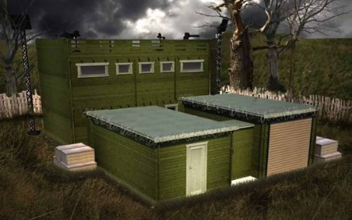 casa anti zombie
