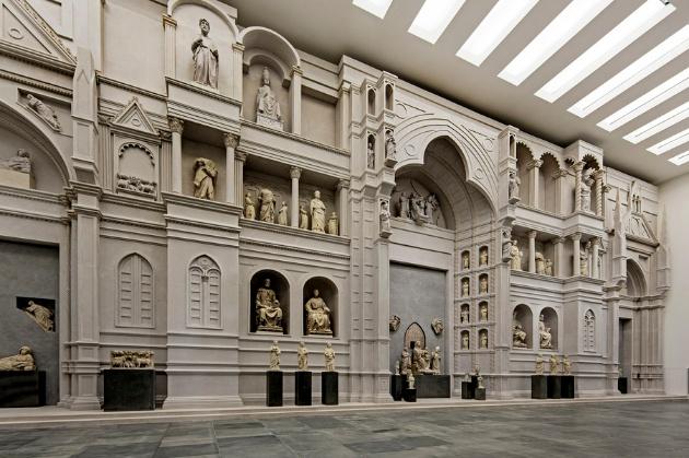 Modello-dellantica-facciata-del-Duomo-di-Firenze-di-Arnolfo-di-Cambio-Museo-dellOpera-del-duomo-foto-Antonio-QuattroneAQ08372