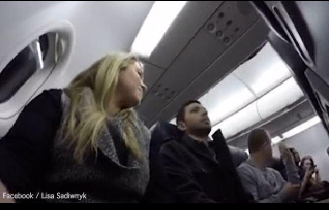 annuncio in volo