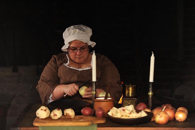 Cosa mangiavano i primi coloni americani?