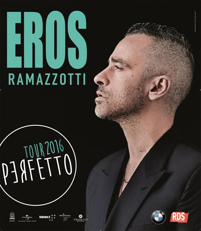 Date concerti Eros Ramazzotti 2016