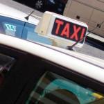 Box informativo taxi a Fiumicino